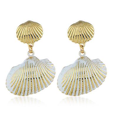 בגדי ריקוד נשים עגיל עגילים תכשיטים זהב עבור Party יומי רחוב חגים פֶסטִיבָל זוג 1