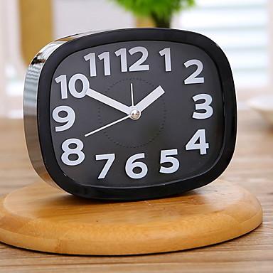 שעון מעורר אנלוגי פלסטיק רוח עצמית אוטומטית 1 pcs