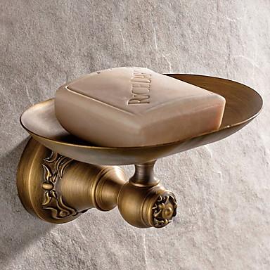 סבון כלים & מחזיקים יצירתי / רב שימושי עכשווי פליז 1pc מותקן על הקיר