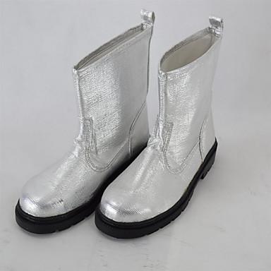 1 זוג 2 גומי פלדה baotou רדיד אלומיניום מגן נעליים בטיחות ציוד מגן / בטיחות נגד החלקה אש אש בידוד 1000 מעלות