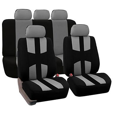 9pcs מושבים לרכב מכסה עבור 5 מושב רכב אוניברסלי יישום 4 עונות זמין