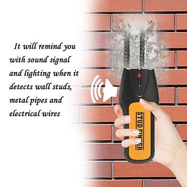 3 ב 1 גלאי מתכות עץ תולעת מוצא חוט אלקטרוני חיישן כבל סורק הקיר מזהה גלאי
