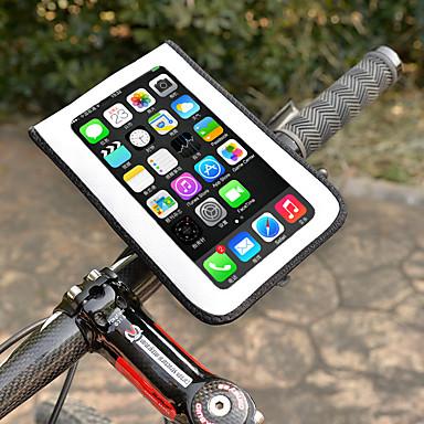 billige Sykkelvesker-Wheel up Mobilveske 6 tommers Sykling til Sykling Andre Tilsvarende Størrelse Telefoner Hvit Fjellsykkel Vei Sykkel Utendørs Trening