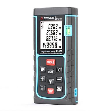 voordelige Test-, meet- & inspectieapparatuur-Sndway sw-e150 laser afstandsmeter 150 m laser-afstandsmeter meetlint afstand / gebied / volume diastimeter afstandsmeter tester gereedschap