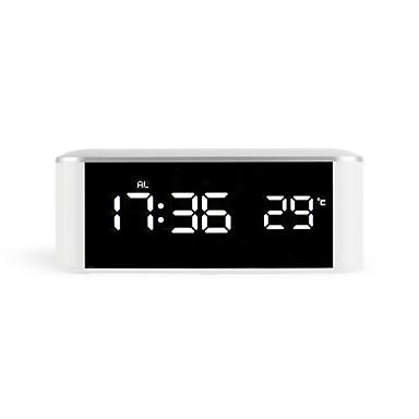 שעון מעורר דיגיטלי פלסטיק LED -