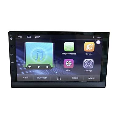 tanie Samochodowy odtwarzacz  DVD-Tft 7 cal 2 din android 8.1 1g ram 16g rom samochód gps navigator quad core / 4g (wcdma) / wifi dla uniwersalnego wsparcia microusb wmv / avi / mpeg ape / flac jpeg / gif / bmp