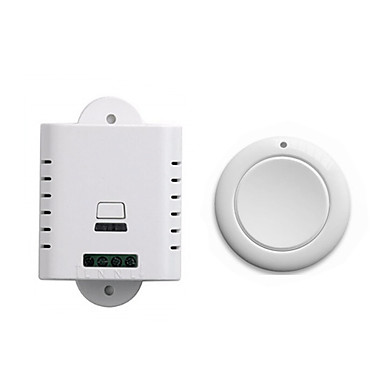 Недорогие Электонные выключатели-smart switch dl220-v1.0 + ak-sos для гостиной / спальни / для ежедневного творчества / многофункциональный / простой в установке беспроводной пульт дистанционного управления 220 В / 110-220 В /