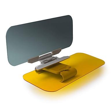 voordelige Auto-zonneschermen & zonnekleppen-auto zonneklep extender beinhome auto anti-glare getint windscherm extender