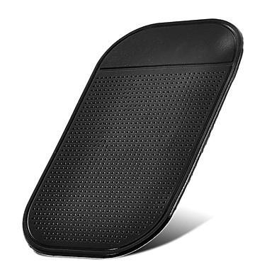 voordelige Auto-interieur accessoires-klevende auto pad voor mobiele telefoon anti-slip anti-schok zwart
