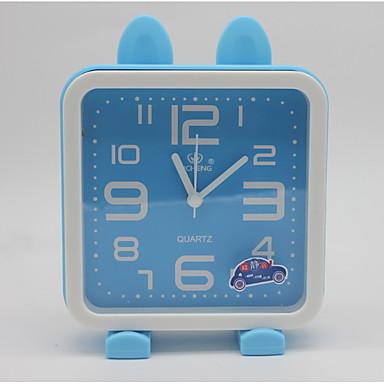 saat masa saati modern çağdaş plastik kare