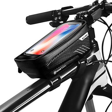 abordables Sacoches de Vélo-WILD MAN Sac de téléphone portable Sac Cadre Velo 6.2 pouce Ecran tactile Etanche Imperméable Cyclisme pour iPhone 8 Plus / 7 Plus / 6S Plus / 6 Plus iPhone X Noir Rouge Vélo de Route Vélo tout
