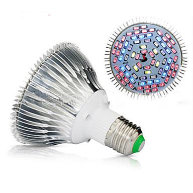 billige Elpærer-1set 50 W Voksende lyspære 300 lm E26 / E27 78 LED perler SMD 5730 Fullt Spektrum 85-265 V
