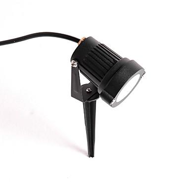 billige Utendørsbelysning-1pc 5 W LED-lyskastere / plen Lights Vanntett Varm hvit 220-240 V / 110-120 V Courtyard / Have 1 LED perler