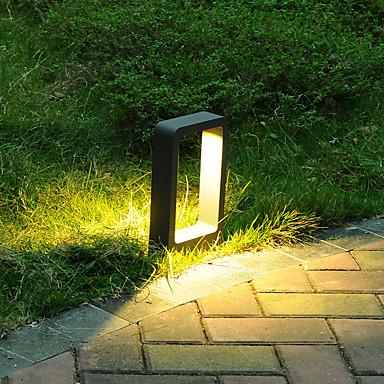 billige Utendørsbelysning-ONDENN 1pc 10 W plen Lights Nytt Design / Dekorativ / Smuk Varm hvit / Hvit 85-265 V Utendørsbelysning / Courtyard / Have 1 LED perler