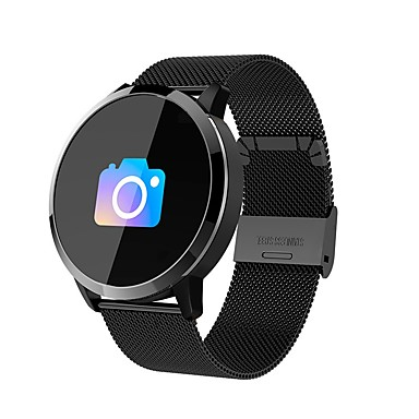 cheap Smart Electronics-Q8 Men Women Smart Bracelet Smartwatch Android iOS Bluetooth Waterproof Heart Rate Monitor Sports Long Standby Smart Timer Stopwatch Call Reminder Activity Tracker Sleep Tracker