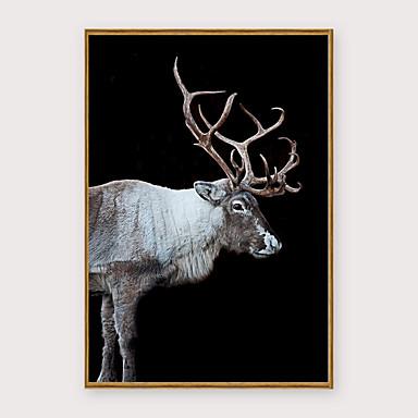 Çerçeveli Sanat Baskısı Çerçeve Seti - Hayvanlar Pop Art Polisitren Fotoğraf Duvar Sanatı