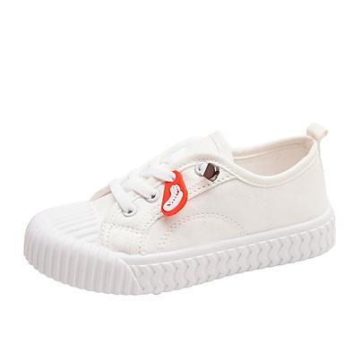 baratos Sapatos de Criança-Para Meninos / Para Meninas Lona Tênis Little Kids (4-7 anos) / Big Kids (7 anos +) Conforto Vermelho / Branco / Preto Verão / Outono