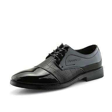 Erkek Ayakkabı PU Sonbahar Günlük Oxford Modeli Günlük için Siyah