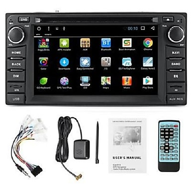 voordelige Automatisch Electronica-LITBest 2Din Windows / Windows CE 6.0 Auto GPS Navigator GPS / Micro USB / WiFi voor Toyota MicroUSB Ondersteuning