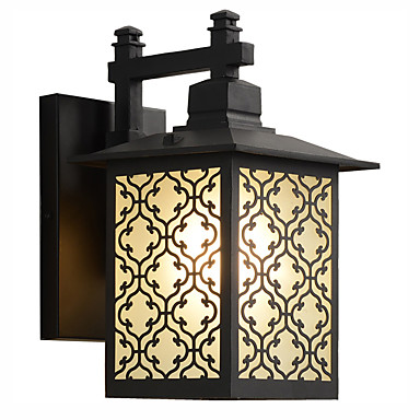 abordables Éclairage Extérieur-Ecolight 1pc 5 W Eclairages extérieurs muraux Imperméable / Créatif / Design nouveau Blanc Chaud 220-240 V / 110-120 V Eclairage Extérieur / Cour / Jardin 5 Perles LED