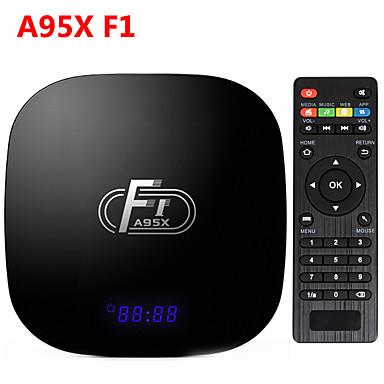 F1 Android TV Box Amlogic S905W Box Quad Core for Smart TV
