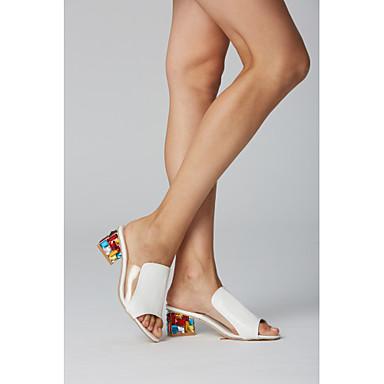povoljno Ženske sandale-Žene Sandale PU Udobne cipele Ljeto Obala / Crn / Crvena / EU40