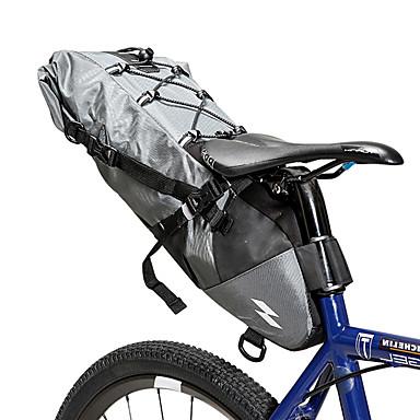 abordables Sacoches de Vélo-10 L Sacoche de Selle de Vélo Etanche Portable Vestimentaire Sac de Vélo Matériau imperméable Sac de Cyclisme Sacoche de Vélo Cyclisme Activités Extérieures Vélo Cyclisme