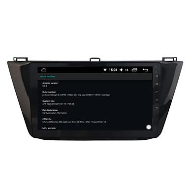 voordelige Automatisch Electronica-10,2 inch 4G RAM Octa Core Android 8.0 auto dvd-speler GPS-navigatie voor Tiguan 2016-2017
