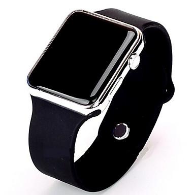 baratos Relógios Homem-Homens Relógio Esportivo Relogio digital Digital Silicone Preta / Branco Relógio Casual Digital Minimalista - Dourado / Branco Preto / Ouro Rose / Aço Inoxidável