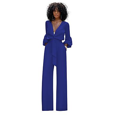 povoljno Novo u ponudi-Žene Crn Obala Plava Odjeća za igru, Jednobojni S M L