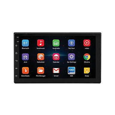 voordelige Automatisch Electronica-7 '' android 8.1 dubbele 2 din 16g quad core gps autoradio mp5 speler fm ondersteuning achteruitrijcamera