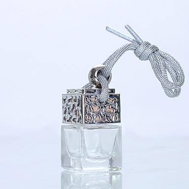 voordelige Auto-interieur accessoires-6 ml auto parfumfles voor luchtverfrissers auto styling ornament parfum hanger (lege fles zonder etherische olie)