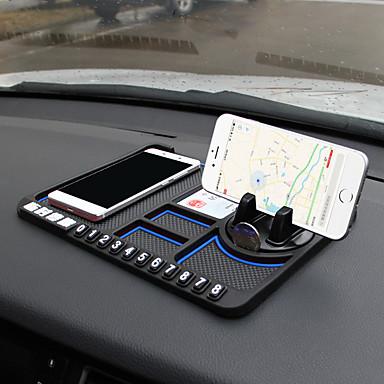 voordelige Auto-cabinematten-multifunctionele auto antislipmat antislip telefoon sticky antislip dash mount telefoon siliconen autobord mat pad