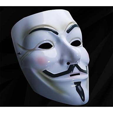 voordelige Maskers voor de feestdagen-Halloweenmaskers V for Vendetta Muovi Horrorthema Volwassenen