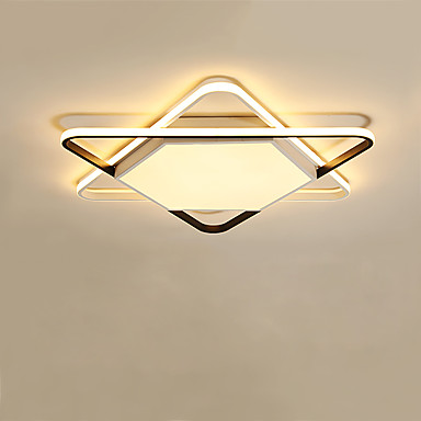 CONTRACTED LED® Doğrusal / Geometrik Gömme Montajlı Işıklar Ortam Işığı Boyalı kaplamalar Metal Yaratıcı, Yeni Dizayn 110-120V / 220-240V Sıcak Beyaz / Soğuk Beyaz