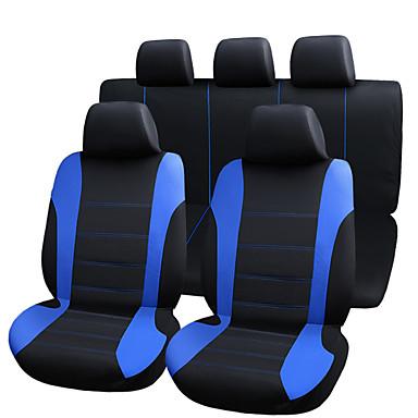 voordelige Auto-interieur accessoires-universele mode-stijl voor terug auto stoelhoezen set-9 stks