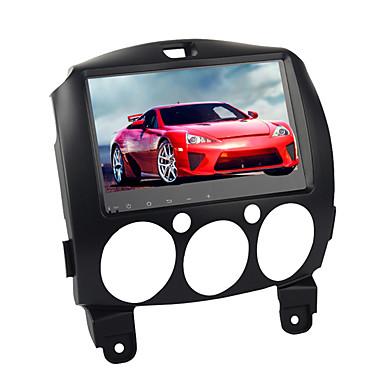 voordelige Automatisch Electronica-9 inch 1 din android 8.0 auto gps navitor auto multimedia dvd speler touchscreen voor mazda 2 2007-2012