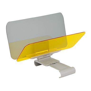 voordelige Auto-zonneschermen & zonnekleppen-autoruit vizier nacht anti-verblinding universeel zonnescherm en nachtzicht voorruit rijden vizier