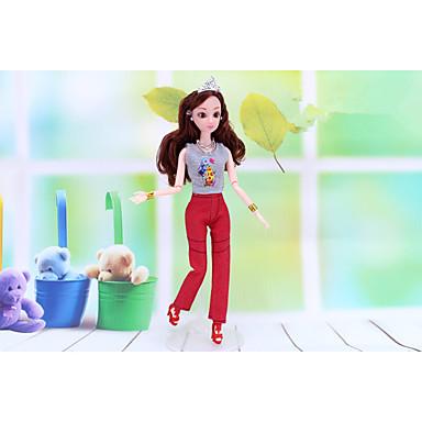voordelige Poppenaccessoires-Doll accessoires Poppenjurk Pop Outfit Panty Voor Barbie PU-nahka Polyesteri Broeken Voor voor meisjes Speelgoedpop