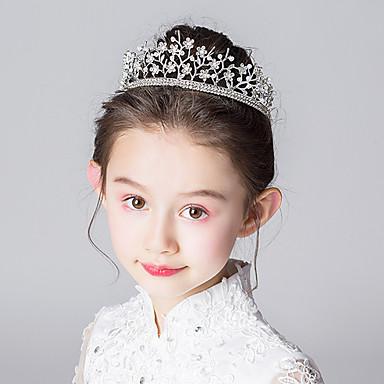 voordelige Dames Sieraden-Dames Sierlijk modieus leuke Style Legering Kristal Haarsieraden Haar charmes Bruiloft