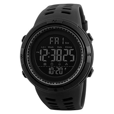 cheap New Arrivals-SKMEI Men's Sport Watch Digital Silicone 30 m Water Resistant / Waterproof New Design LCD Digital Outdoor Fashion - Black Green Black / Blue