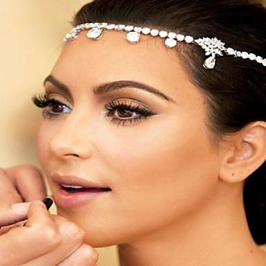 voordelige Dames Sieraden-Dames Modieus Bruids Prinses Messinki Zirkonia Verzilverd Haarsieraden Hair Clip Bruiloft Feest