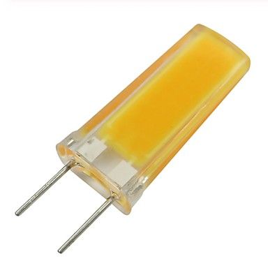 billige Elpærer-1pc 3 W LED-lamper med G-sokkel 300-390 lm G8 1 LED perler COB Dekorativ Smuk Varm hvit Kjølig hvit 220-240 V 110-130 V