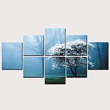 billige Trykk-Trykk Valset lerretskunst - Botanisk Klassisk Moderne Kunsttrykk