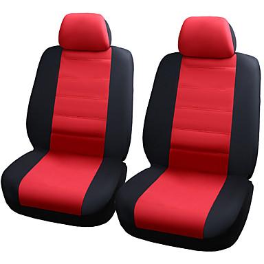 voordelige Auto-interieur accessoires-autostoelen beschermer zetels dekken elastisch gaas materiaal composiet 2mm spons zetels hoes-4 stuks