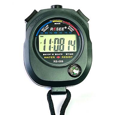 baratos Relógios Senhora-Casal Relógio Esportivo Japanês Digital Preta 30 m Cronógrafo Novo Design Cronômetro Digital Ao ar Livre Nova chegada - Preto Dois anos Ciclo de Vida da Bateria