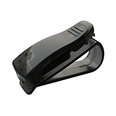 voordelige Auto-interieur accessoires-hete verkoop cip bh auto-accessoires abs auto zonneklep zonnebril tickethouder clip
