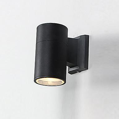 led su geçirmez / yeni tasarım basit / modern çağdaş duvar lambaları& Aplikleri açık / bahçe metal duvar lambası