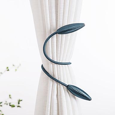 billige Vindusbehandling-gardinbindinger hengende belter tau gardin holdback spenner låseklemmer gardin tilbehør krok holder dekor