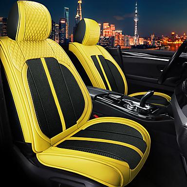 voordelige Auto-interieur accessoires-5 stks / set vijf zetels auto zitkussen vier seizoenen algemene sportwagen stoel compatibel met airbag